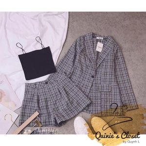 Set 3 items: vest+ short+ top